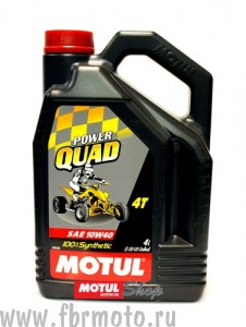 Масло для ATV Motul Power Quad 4T 10w40 4L